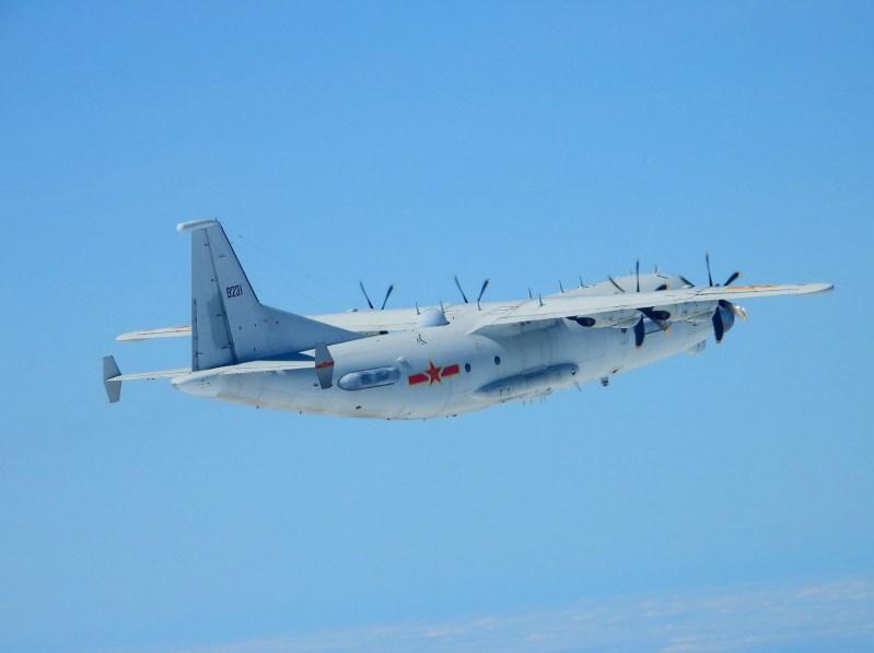 空軍21日發布共機動態,共軍1架運8技術偵察機、1架運8反潛機侵犯台灣西南防空識別區(ADIZ)。圖為運8技術偵察機同型機。(圖取自國防部網頁mnd.gov.tw)