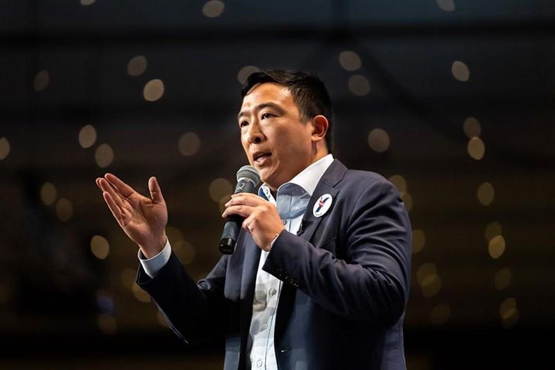 美國總統當選人拜登近期將公布他的內閣名單,台裔美籍企業家楊安澤(圖)有望出任商務部長。(圖取自facebook.com/andrewyang2020)
