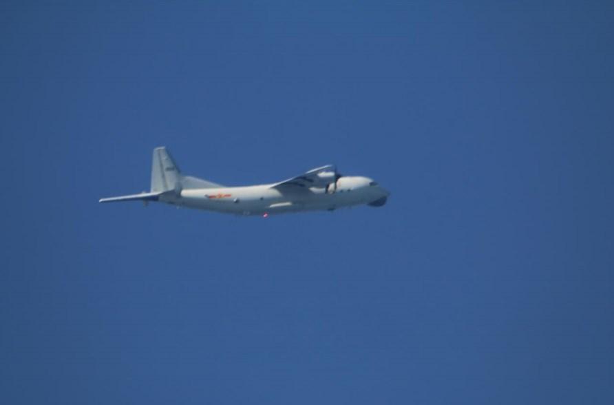 空軍23日發布共機動態,共軍1架運8反潛機侵犯台灣西南防空識別區(ADIZ)。圖為運8反潛機同型機。(圖取自國防部網頁mnd.gov.tw)