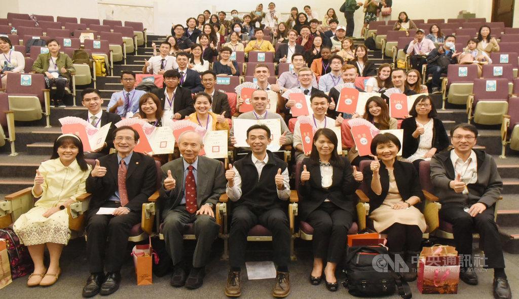 由國父紀念館主辦的華語文演講比賽今年已是第48屆,參賽者來自12國,共55位外籍學生,演講的題目以「後疫情時代」以及「在台觀察」為主軸。(國父紀念館提供)中央社記者李欣穎傳真 109年11月24日