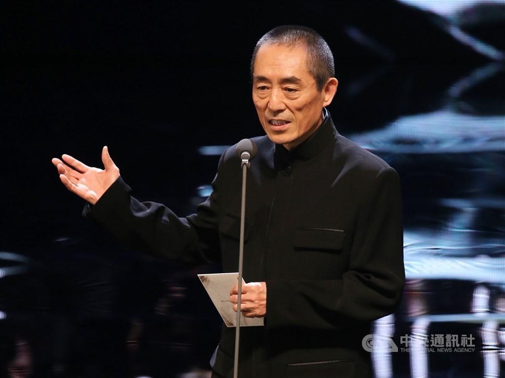 中國電影金雞獎將於25日登場,不過,中國導演張藝謀執導的影展開幕片「一秒鐘」,傳出因技術問題取消在影展放映。(中央社檔案照片)