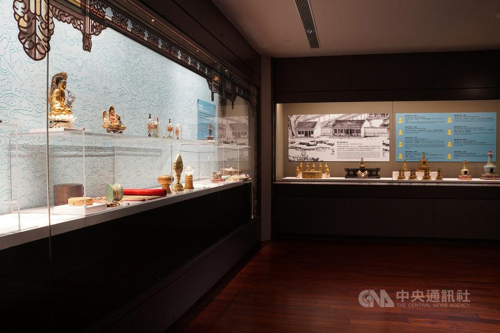 國立故宮博物院28日起於北部院區推出「呼畢勒罕─清代活佛文物大展」,帶領觀眾飽覽清代藏傳佛教藝術。(故宮提供)中央社記者鄭景雯傳真 109年11月27日