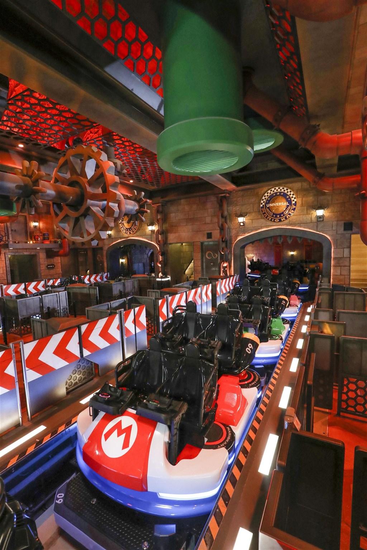 日本大阪環球影城30日宣布,瑪利歐新園區將在2021年2月4日正式開幕。(共同社)