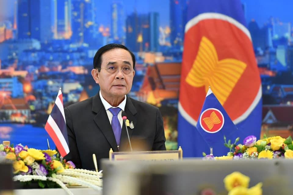 泰國總理帕拉育遭到在野黨檢舉非法住在陸軍的館舍內,泰國憲法法院2日將宣布判決結果。(圖取自facebook.com/prayutofficial)