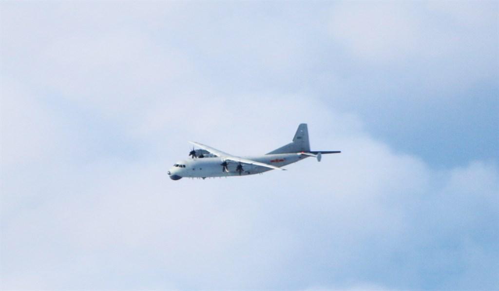 空軍2日發布共機動態,共軍1架運8反潛機上午侵犯台灣西南防空識別區。圖為運8反潛機同型機。(圖取自國防部網頁mnd.gov.tw)
