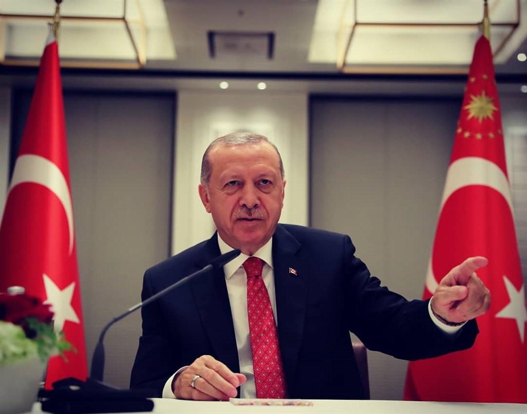 土耳其總統艾爾段指出,準備好與歐洲聯盟共同定下「積極議程」,將以長期觀點促進對歐盟關係重回正軌。(圖取自facebook.com/RTErdogan)