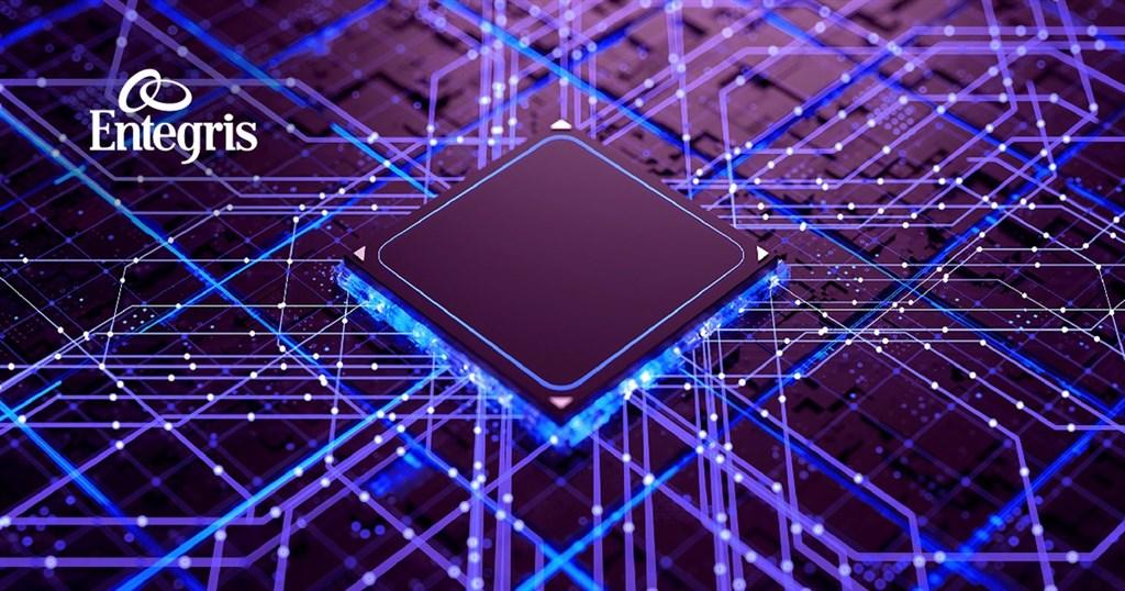 台積電供應鏈、全球先進材料及製程方案大廠英特格21日宣布擴大在台布局,未來3至5年將在台灣投資約2億美元。(圖取自facebook.com/EntegrisInc)