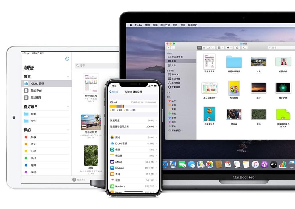 蘋果證實「iCloud帳號與登入」出現問題,27日上午5時35分已恢復正常。(圖取自蘋果公司網頁apple.com)