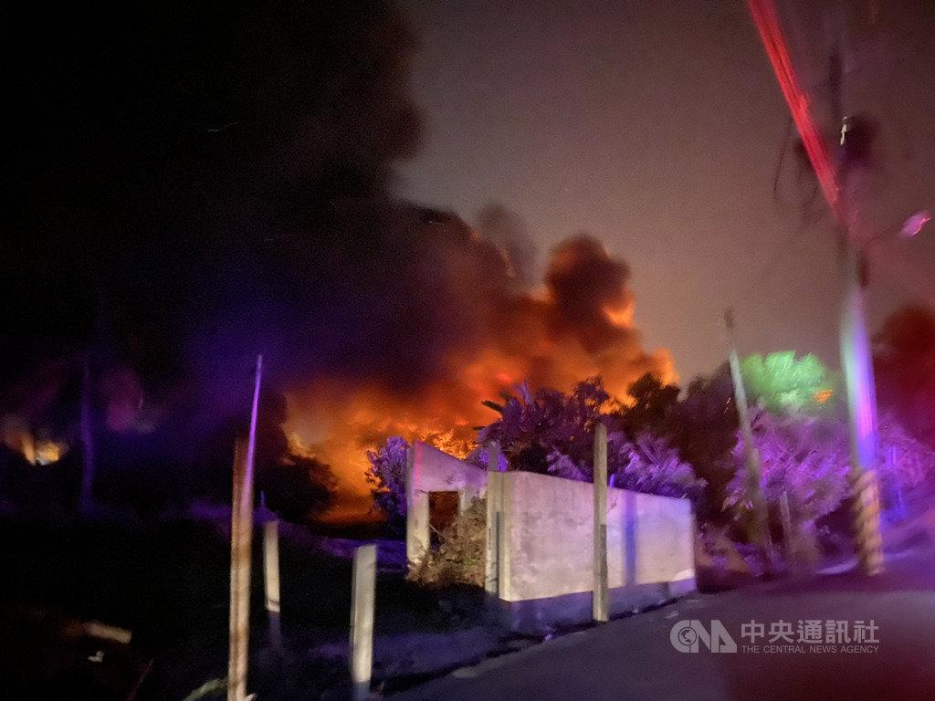 北 上市 火災