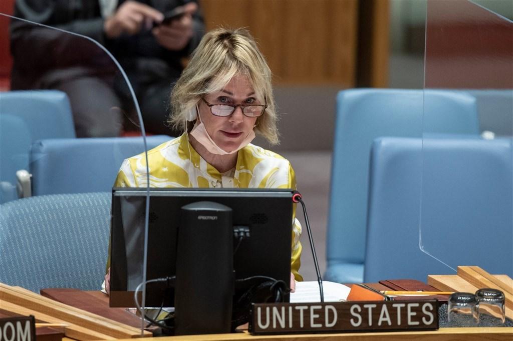 外交部長吳釗燮11日說,美國駐聯合國大使克拉夫特(圖)13至15日訪問台灣期間,將於14日晉見總統蔡英文。(圖取自twitter.com/USAmbUN)