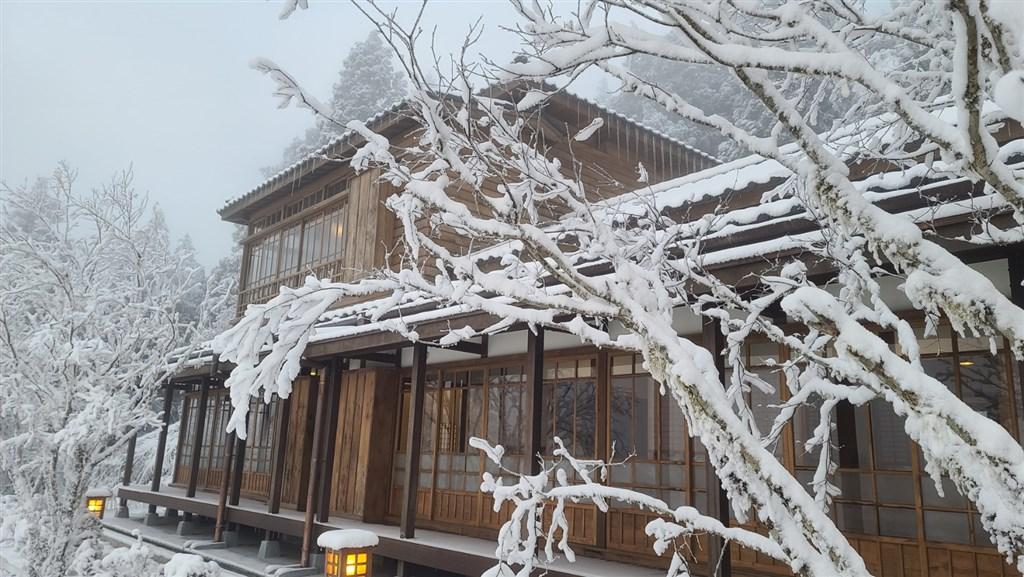 太平山文史館是以珍貴檜木為結構的日式房舍。(林務局羅東林區管理處提供)