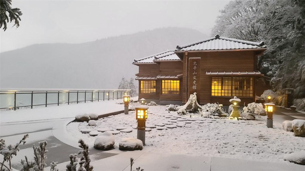 太平山文史館原興建於1937年,是以太平山生產的珍貴檜木為結構的日式房舍。(林務局羅東林區管理處提供)