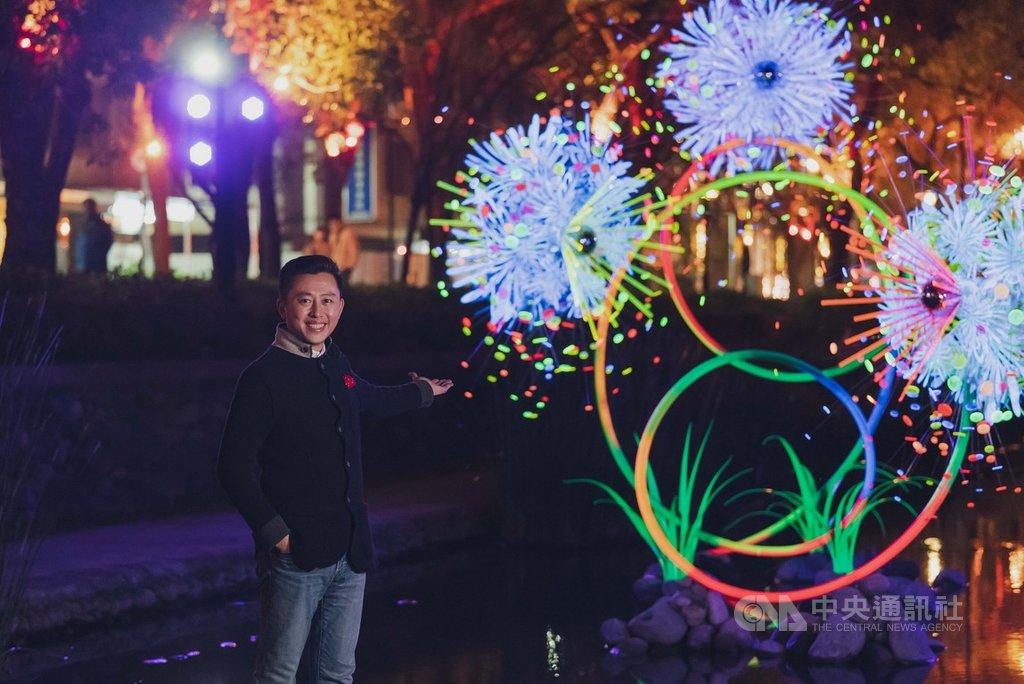 北部某醫院群聚感染擴大,而2021台灣燈會舉辦在即,新竹市長林智堅18日表示,大量人潮易造成防疫破口,停辦是主要選項。(新竹市政府提供)中央社記者魯鋼駿傳真 110年1月18日