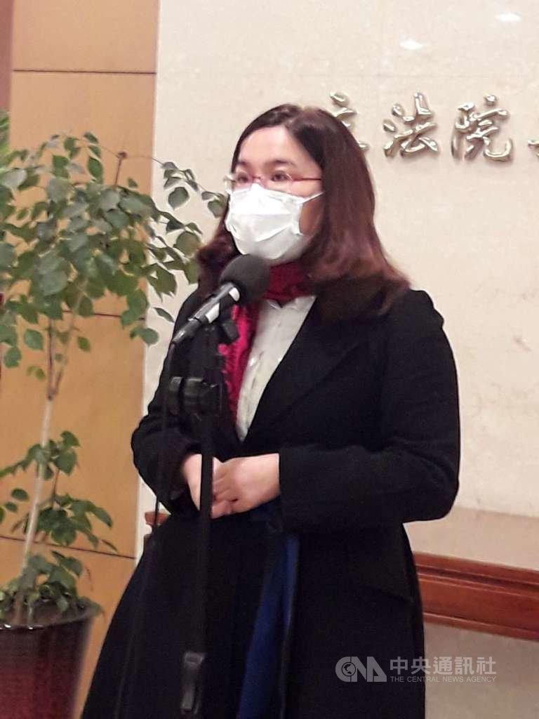 丹麥保守黨派組成的藍色陣線與社會自由黨日前提案支持台灣重返世界衛生組織,這是丹麥國會首次將台灣議題納入國會決議文討論。國民黨立委陳玉珍等人18日在立法院表示,感謝丹麥國會議員挺台。中央社記者范正祥攝  110年1月18日