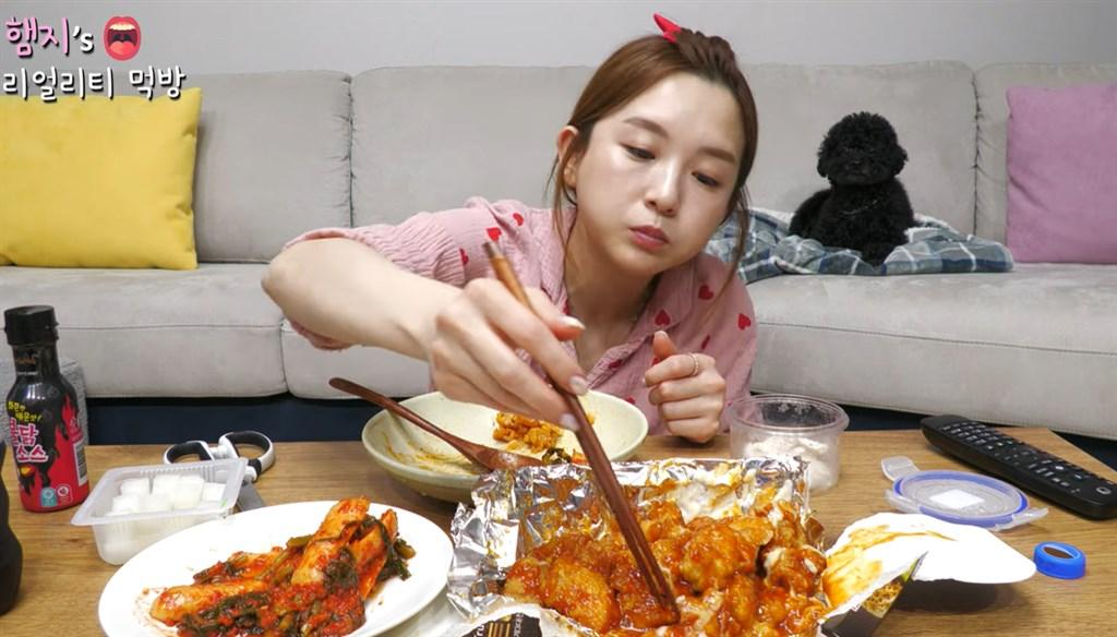 擁有逾530萬粉絲的韓國網紅Hamzy因曾按讚「批中言論」、稱「泡菜是韓國的」而被指辱華。(圖取自[햄지]Hamzy YouTube網頁youtube.com)