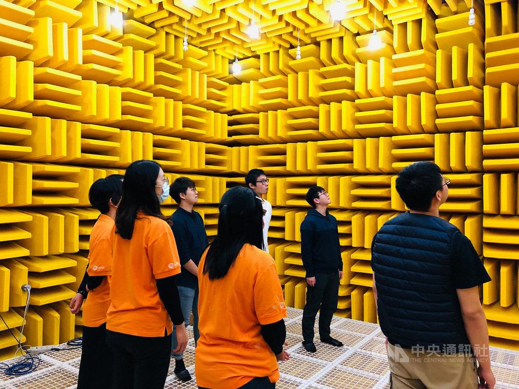 美律實業與逢甲進行產學合作、斥資新台幣4000萬元建造台灣最大的聲學無響室。(美律提供)中央社記者江明晏傳真 110年1月21日