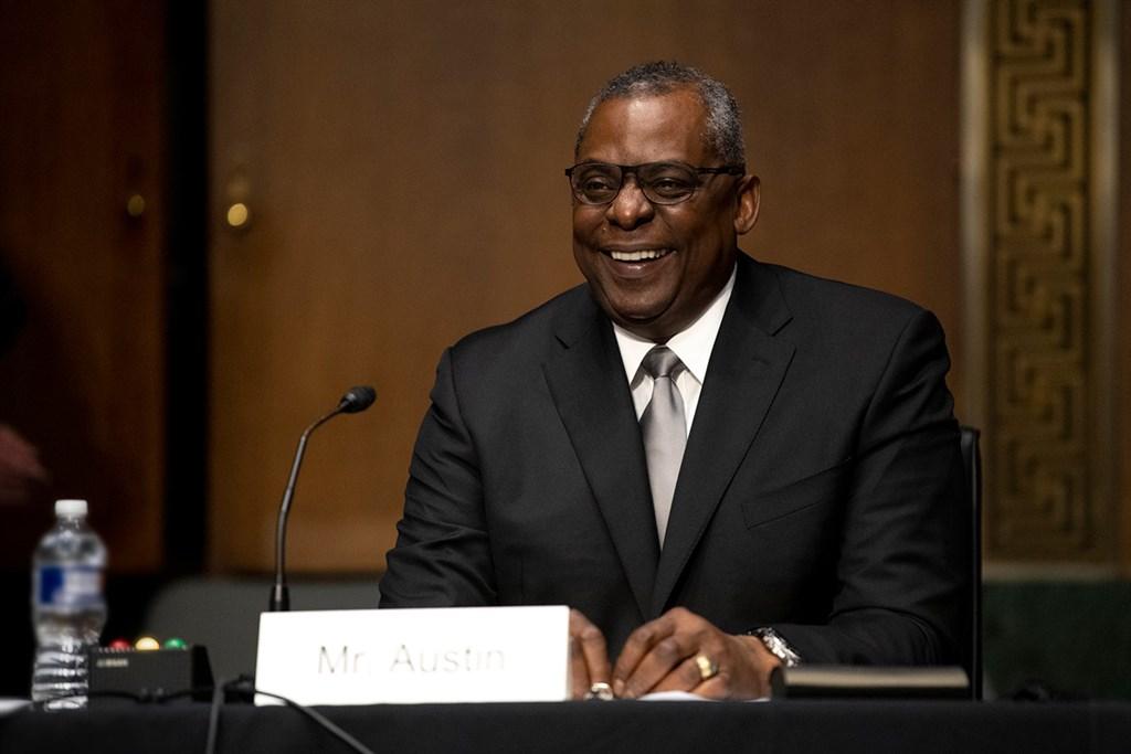 美國防部長奧斯汀提名案22日獲參議院通過,成為美國首位非裔國防部長。(圖取自facebook.com/DeptofDefense)