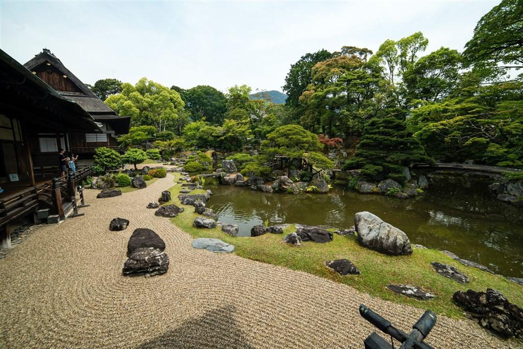 醍醐寺內三寶院庭園。(圖取自Unsplash圖庫)