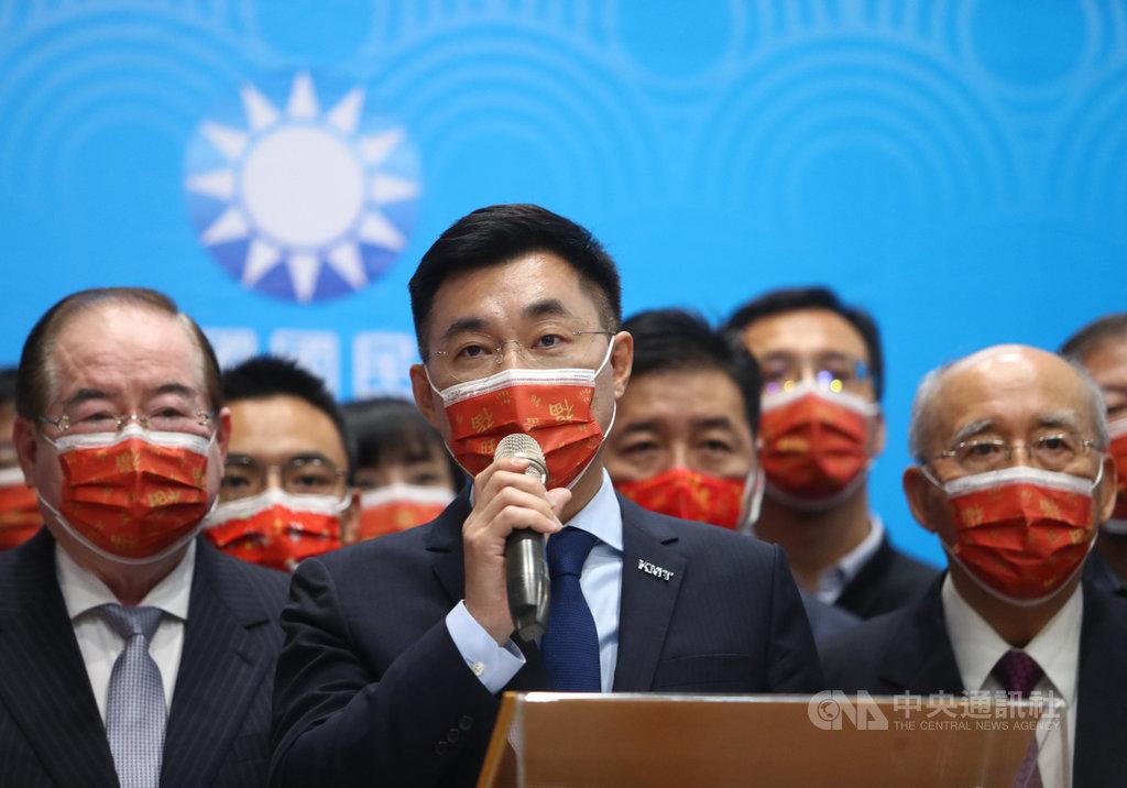 立院將啟動修憲 江啟臣:反對變更國名或國家定位 | 政治 | 中央社 C