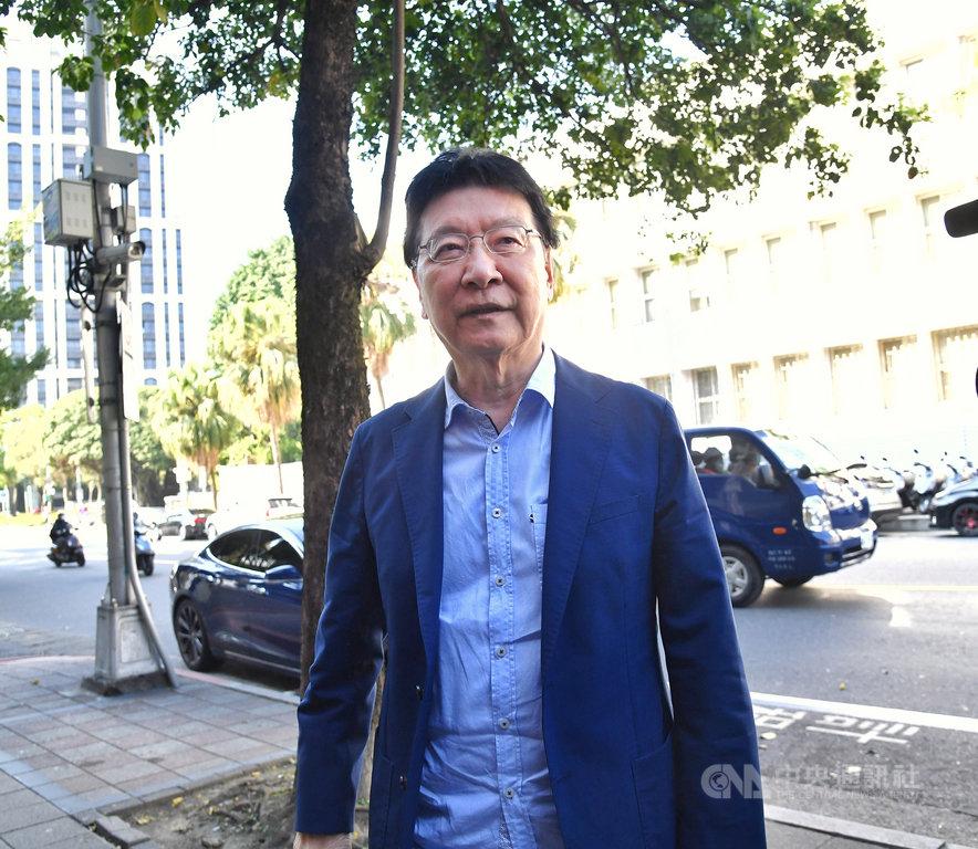 台北地方法院審理三中案,22日以證人身分傳喚中廣董事長趙少康(圖)。趙少康表示,三中案是政治起訴、司法追殺前總統馬英九,檢察官起訴證據很多悖離事實。中央社記者王飛華攝 110年2月22日