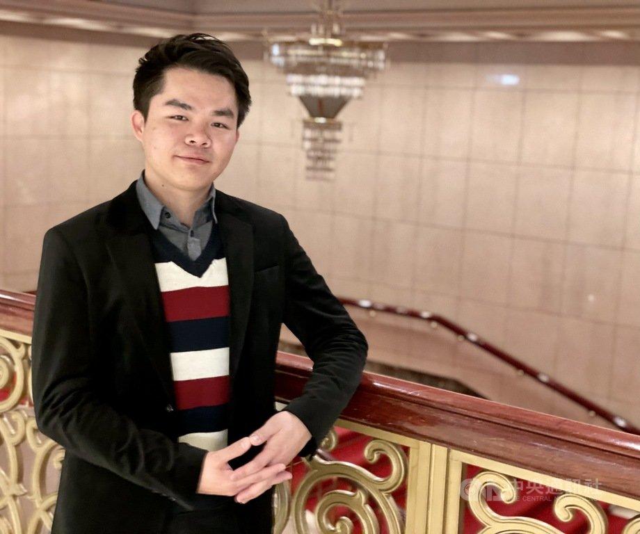 留俄鋼琴家林冠廷將舉行鋼琴獨奏會,以全場俄國作品展現多年習琴經歷。中央社記者趙靜瑜攝 110年2月22日