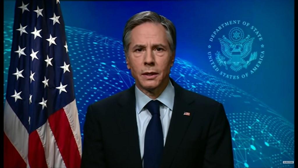 美國國務卿布林肯近日接受BBC訪問表示,若要避免病毒帶來的毀滅性衝擊,就須在疫情初期就給予國際專家取得資訊權限,但這些中國至今都尚未做到。(圖取自BBC Youtube頻道網頁www.youtube.com)