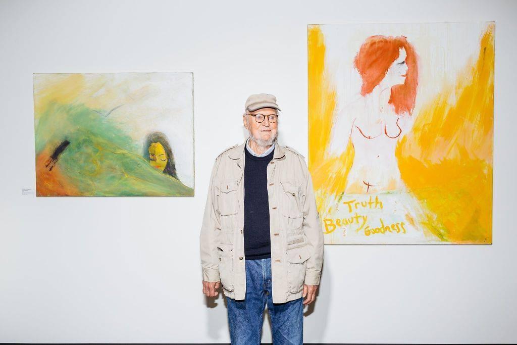 舊金山獨立書店城市之光共同創辦者、詩人、畫家暨出版家費林格提22日去世,享嵩壽101歲。(圖取自facebook.com/lawrenceferlinghettiofficial)