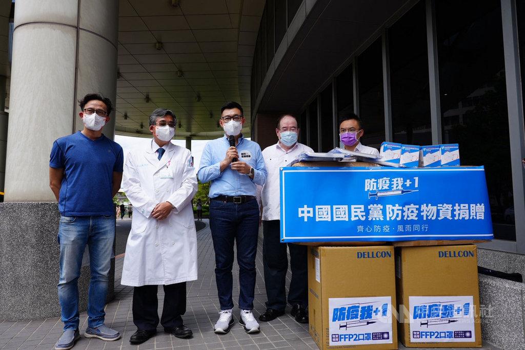 談接種順序 江啟臣:應盡快採購足夠數量疫苗   政治   中央社 CNA