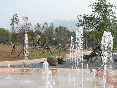 名間苗圃生態公園設大型遊具  老少咸宜暑假亮相