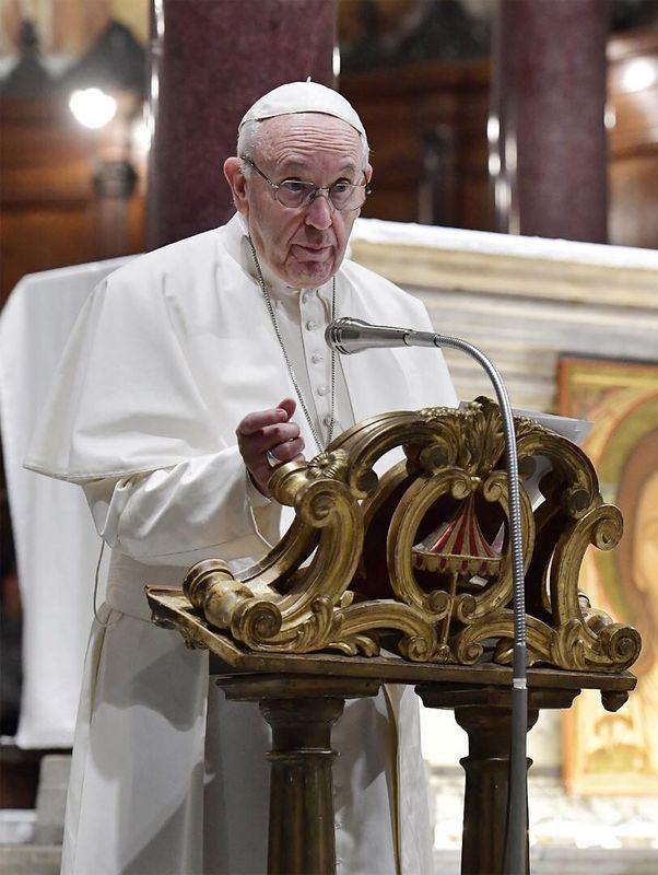 梵蒂岡與中國之間的主教任命爭議,在纏鬥數十年後可能達成歷史性突破。圖為教宗方濟各。(圖取自方濟各IG www.instagram.com/franciscus)