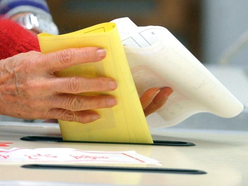 年底有10個全國性公投案綁大選,創下史上最多公投案一起投票。(中央社檔案照片)