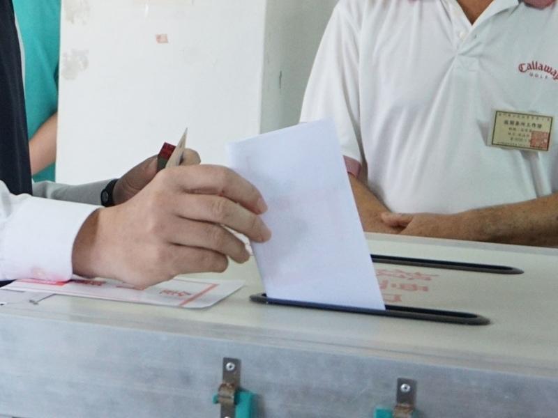 九合一選舉合併公投將於24日投票。(中央社檔案照片)