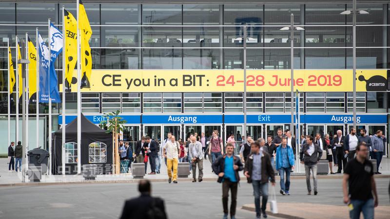 德國漢諾威電腦展(CEBIT)參展廠商和參觀人數逐年下滑,2019年起正式停辦。(漢諾威電腦展提供)中央社記者林育立柏林傳真 107年11月29日