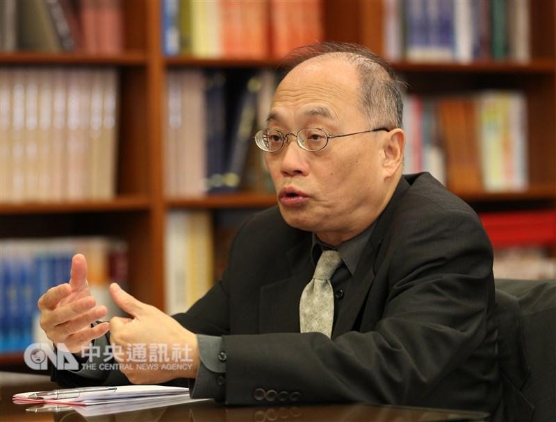 行政院宣布,故宮博物院院長將由國史館館長吳密察出任。(中央社檔案照片)