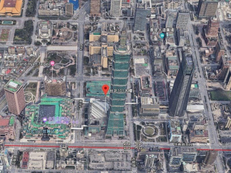 Google 13日宣布在台北市、新北市、桃園市、台中市4個城市的衛星地圖上新增3D影像。(圖取自Google地圖網頁google.com/maps)