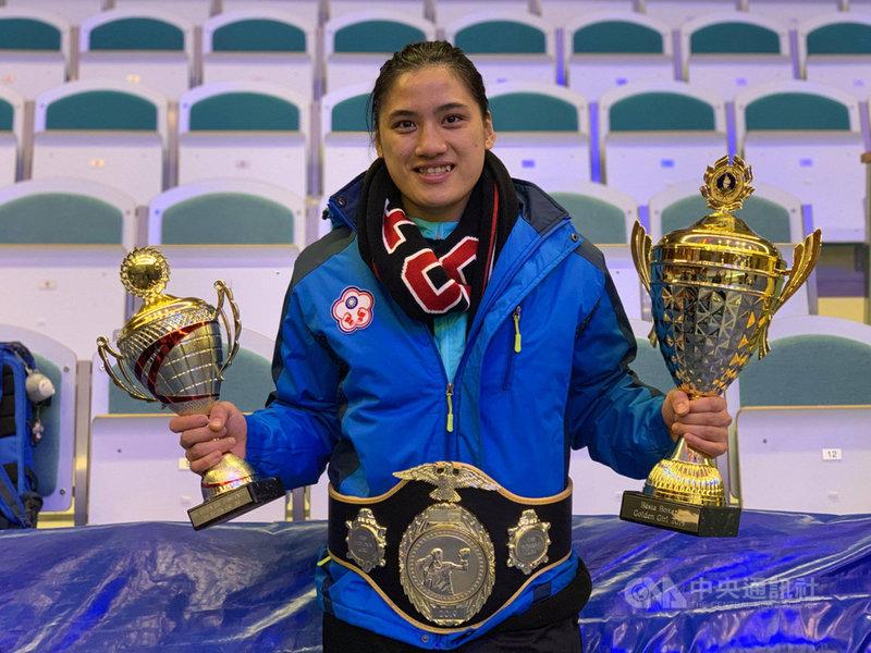 國際拳擊總會(AIBA)公布最新2019世界拳擊排名,我國女拳擊好手陳念琴名列世界女子拳擊69公斤量級第1名。(取自陳念琴臉書)中央社 108年3月9日