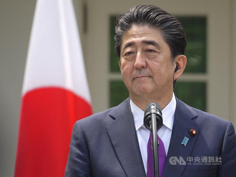 美日領袖會談後聯合聲明觸及台灣是52年來首見,日本前首相安倍晉三19日表示,這對印度太平洋的和平與穩定具有很大的意義。(中央社檔案照片)