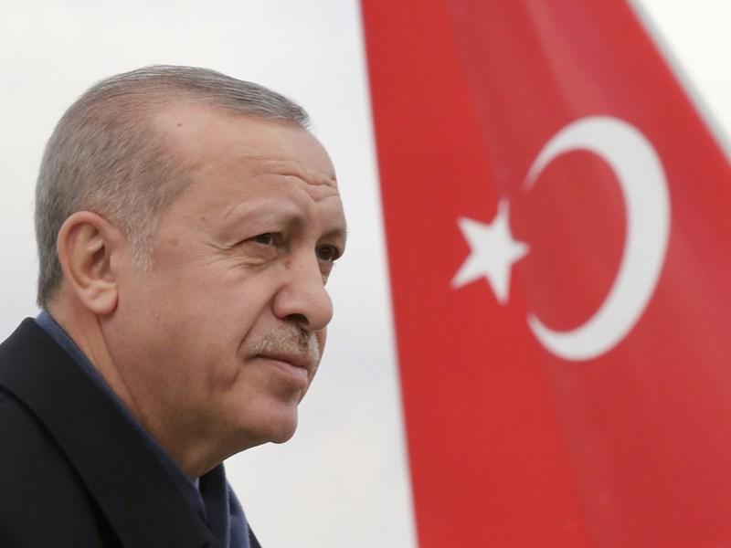 土耳其舉行地方選舉,反對黨大有斬獲,總統艾爾段領導的正義發展黨,恐面臨盟友和前同志夾擊的挑戰。(圖取自twitter.com/RT_Erdogan)