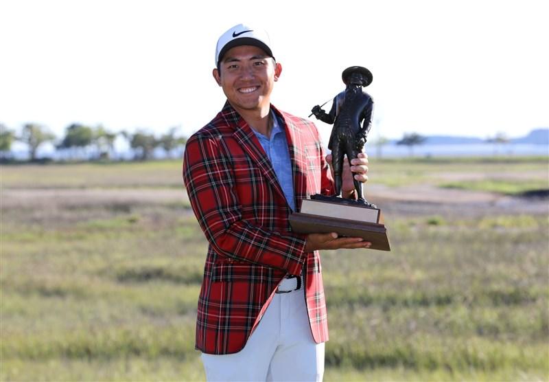 台灣好手潘政琮21日拿下生涯第一座PGA冠軍。(圖取自twitter.com/pgatour)