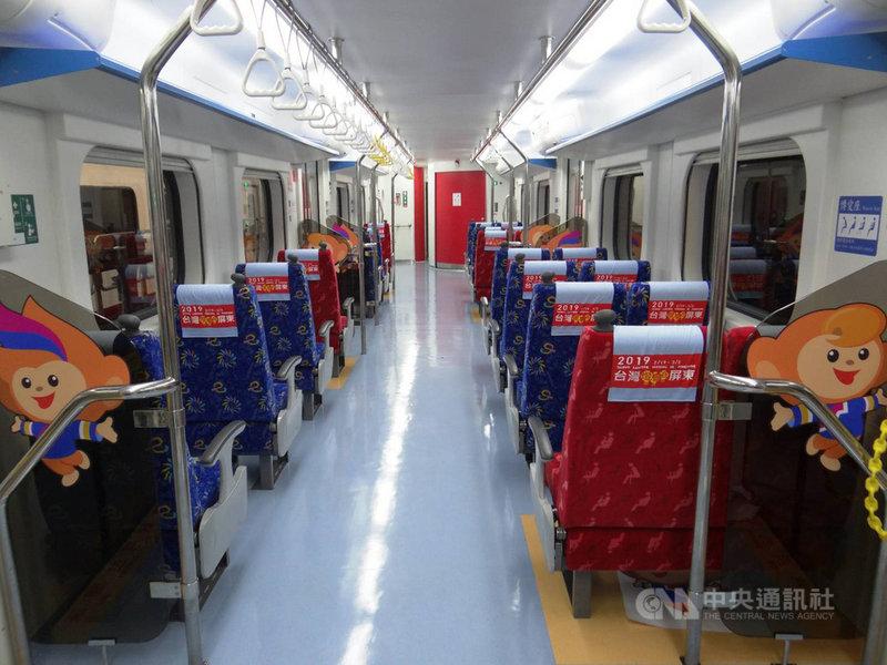 台鐵辦理EMU500及600型336輛通勤電車車廂更新,預計民國110年招標,並首次邀請專家召開美學會議,讓更新後的電車更具美感。(台鐵提供)中央社記者汪淑芬傳真 108年6月14日