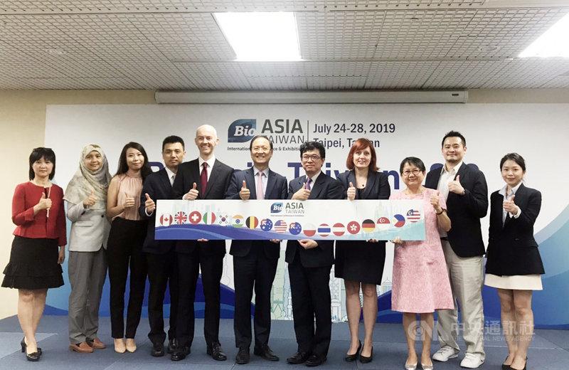 歷經13年的努力,台灣一年一度的生技盛會從台灣生技大會晉階至亞洲生技大會,吸引更多國際廠商參與,也為台灣廠商創造更多與國際大廠媒合機會。中央社記者韓婷婷攝 108年7月17日