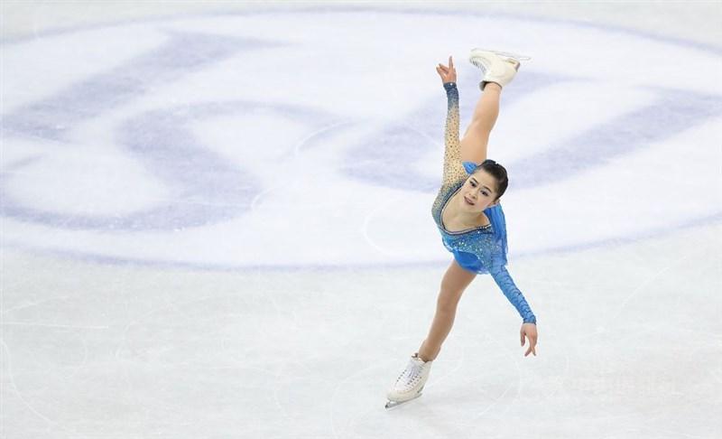 原訂10月在台灣舉辦的2019年亞洲國際花式滑冰經典賽台北站,臨時遭取消。圖為2018在台北小巨蛋舉辦的四大洲花滑錦標賽。(中央社檔案照片)