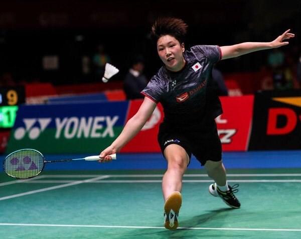 日本名將山口茜(圖)26日在2019日本羽球公開賽擊敗印度名將辛度,提前宣告擠下戴資穎,將成為世界球后。(圖取自twitter.com/akane_gucchi66)