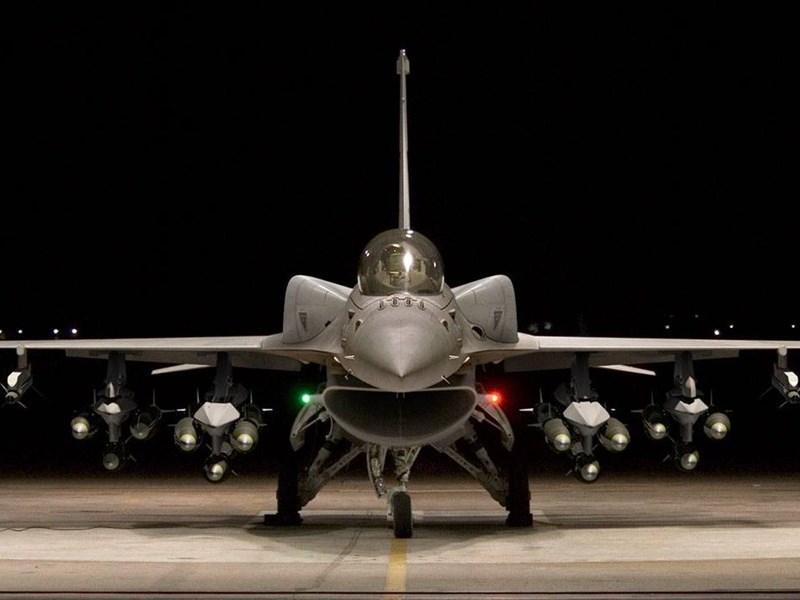 F-16V被稱為是「亞洲最強中輕型戰機」,讓國軍戰力全面升級強化。(圖取自facebook.com/lockheedmartin)