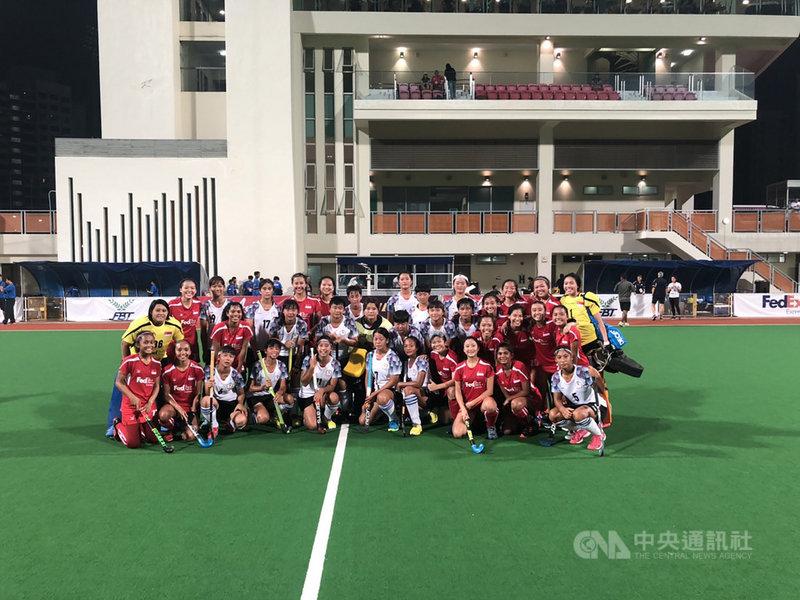 2019年U21女子亞洲盃曲棍球錦標賽第6天賽程,代表台灣出賽的女子曲棍球小將雖將士用命,仍不敵強敵新加坡,以0比4吞敗。中央社記者黃自強新加坡攝 108年9月14日