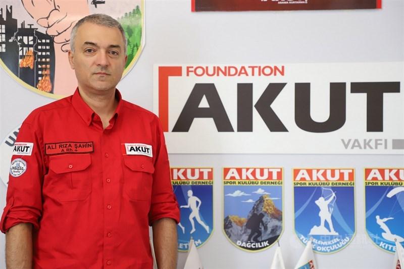 九二一地震發生後,土耳其政府、民間共組救難隊協助搜救,其中志工團體AKUT現任醫療後勤部門主管沙辛(圖)說,這個非政府組織當時派出17人參與團隊。中央社記者何宏儒伊斯坦堡攝 108年9月14日