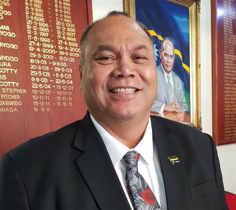 諾魯總統安格明26日表示,諾魯會維持與台灣的長久關係,共同捍衛民主價值與法治。(圖取自twitter.com/Republic_Nauru)