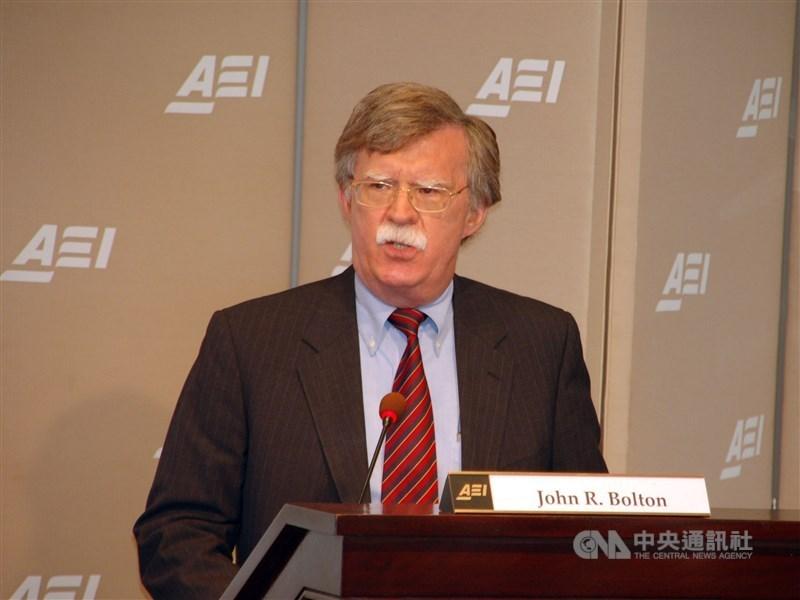 美國前國家安全顧問波頓9月30日警告,北韓從未真正決定放棄核子武器。(中央社檔案照片)