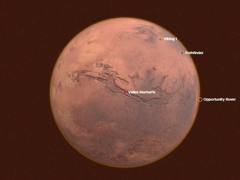 NASA首席科學家葛林指出,2020年的火星任務將會發現外星生命的證據。(圖取自NASA網頁nasa.gov)