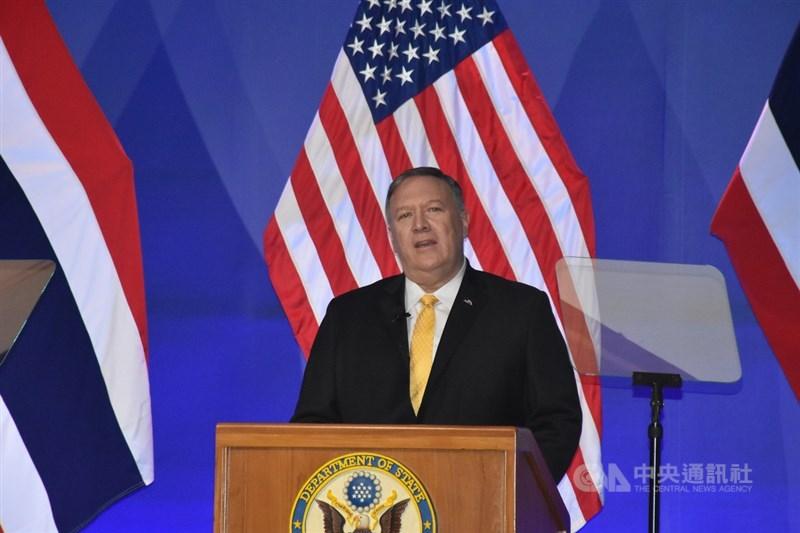 美國務卿蓬佩奧8日宣布,將對相關負責的中國政府及共產黨官員採行簽證限制措施。(中央社檔案照片)